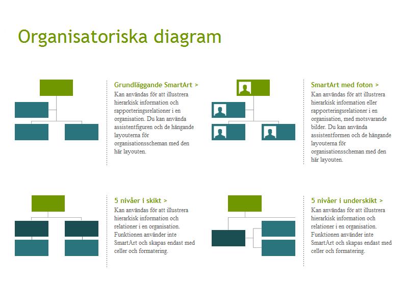 Exempel på PowerPointmallar